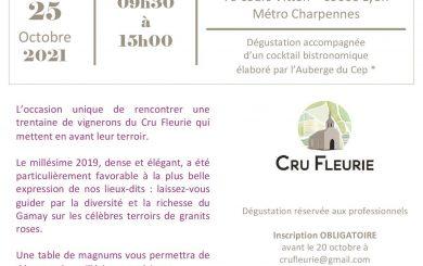 Lyon Tasting – Cru Fleurie